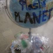 Ausstellung über Plastikmüll