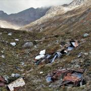 Müll vom Mount Everest